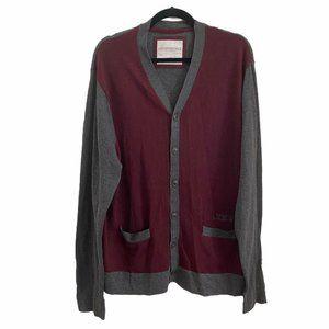 Aeropostale XL Cardigan Sweater Mens Vneck Button